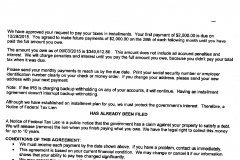 Partial Pay Installment Agreement - Over $140k saved