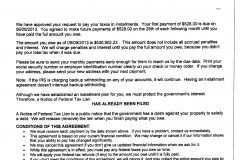 Partial Pay Installment Agreement - Over $500k saved