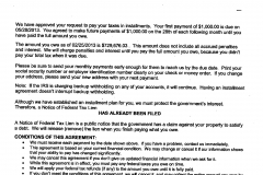 Partial Pay Installment Agreement - Over $600k saved